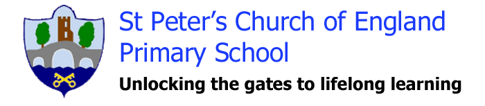 St Peter's Aylesford Logo