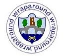 Wraparound logo